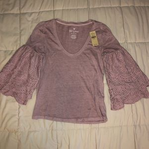 New w/ Tags american eagle pink top size XS
